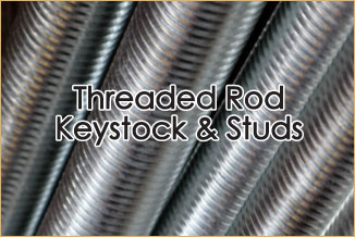 threaded rods, keystock and studs